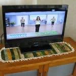 Batik Table Runner and Fitbit Update