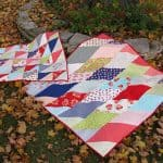Fat Eighth Frenzy free quilt pattern