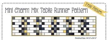 Charm Squares Free Pattern