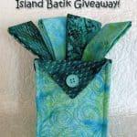 Island batik Blog Hop Winners
