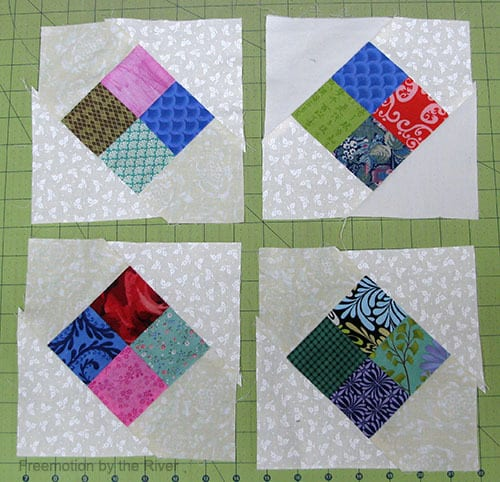 Stash Control in the quilt studio