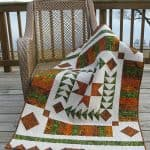 Amber Geese Quilted