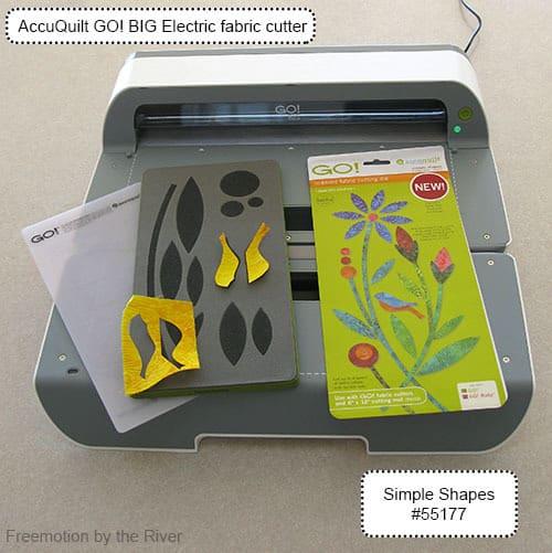 AccuQuilt GO! BIG electric fabric cutter