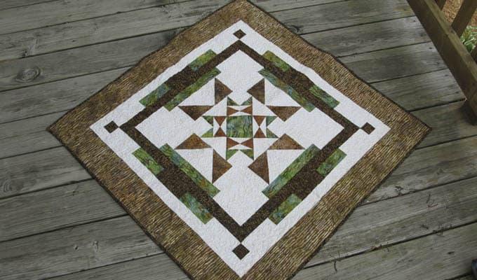 Aruba Sunset Quilt Pattern