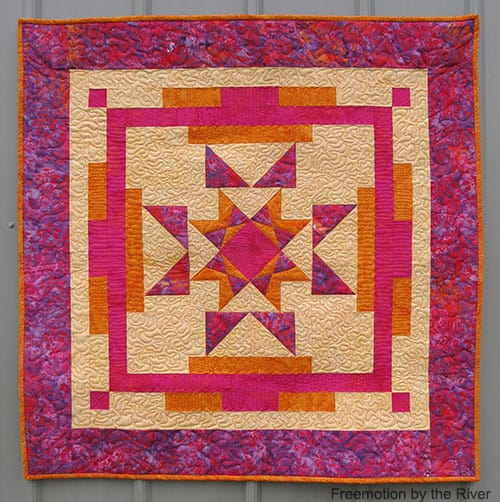 Aruba Sunset made with Island Batik fabrics