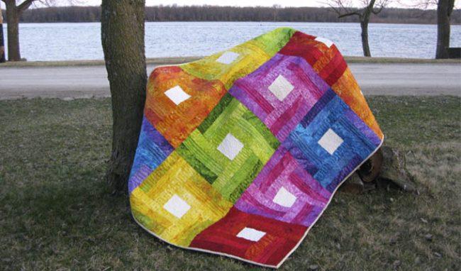 Rainbow Quilt Tutorial