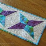 AccuQuilt GO! Kite Tablerunner for Spring