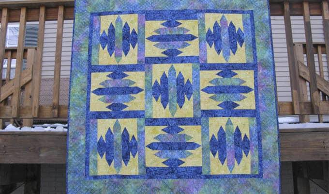 Blue Sapphire Quilt Pattern