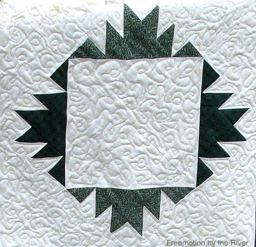 Delectable Mountains free quilt pattern