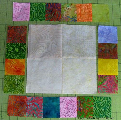 Adding blocks on all sides