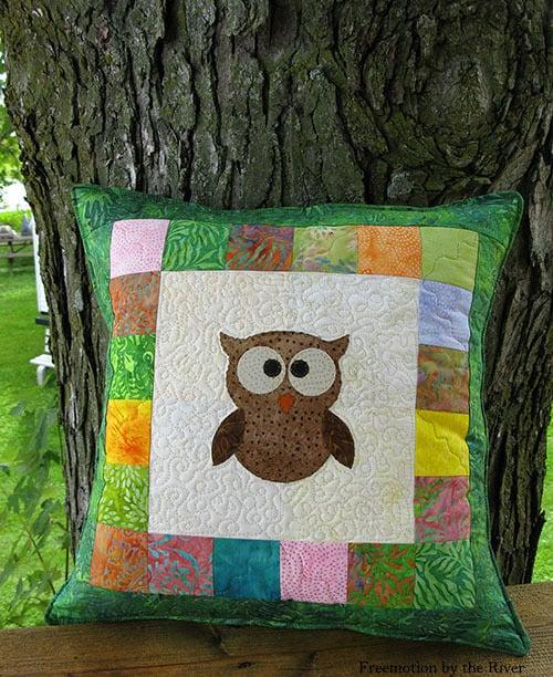 Tree Owl Quilt Pattern Tutorial