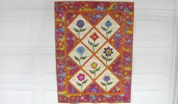 Summer Flowers Quilt Pattern