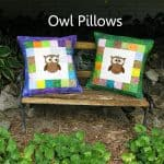 Two Owl Pillows Tutorial