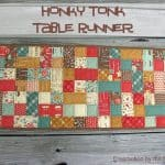 Honky Tonk Table Runner