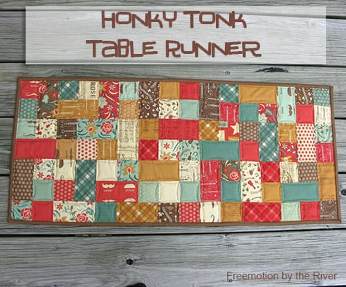 Honky Tonk Tablerunner Tutorial