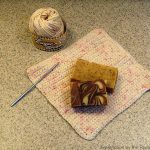 Crocheted Dish cloth and blog hop