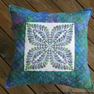 Batik Kaleidoscope Pillow