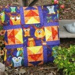 Nite Owls Pillow Tutorial