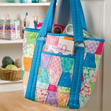 AccuQuilt GO! Tumbler Tote free pattern