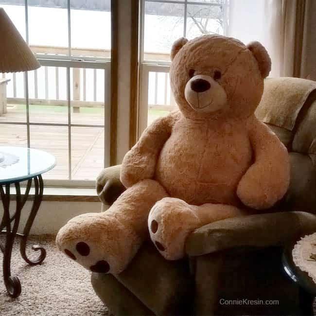 Charm Box Quilt Bear