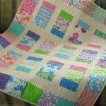 Charm Box Quilt Free Pattern