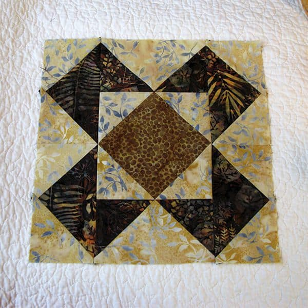 Roasted Coffee Table Runner tutorial for AccuQuilt