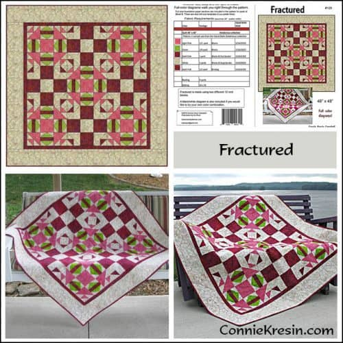 Fractured Pattern Store Collage buy the pattern! - conniekresin.com