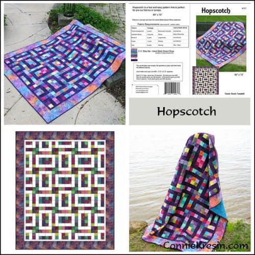 Hopscotch Pattern Store Collage - ConnieKresin.com
