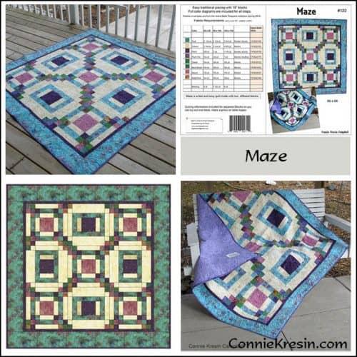 Maze Pattern Store Collage - ConnieKresin.com