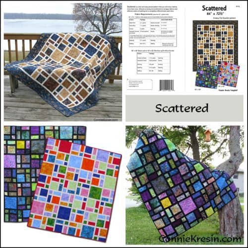 Scattered Pattern Store Collage - ConnieKresin.com