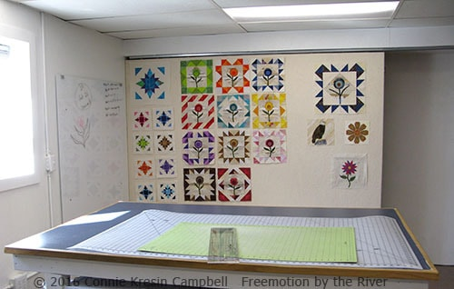 DIY Sliding Quilt Design Wall • Freemotion by the River : design walls for quilting - Adamdwight.com