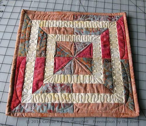 Crystal Cove Swirl Mini Quilt