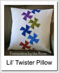 Lil Twister Pillow