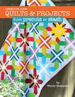 http://landauerpub.com/Quilting/Creative-New-Quilts-Projects-from-precuts-or-stash.html