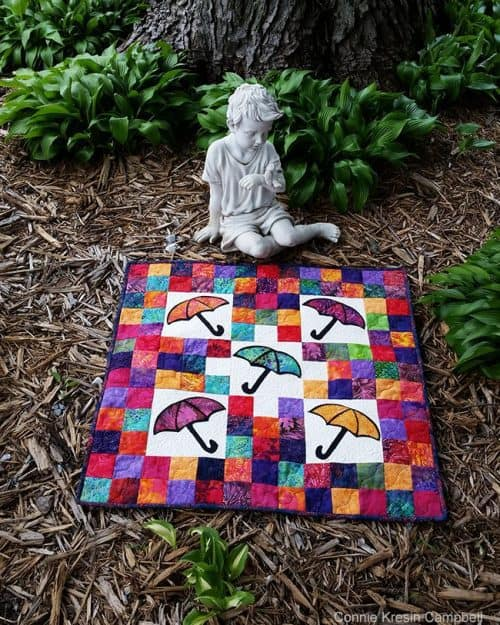 Quilt with angel