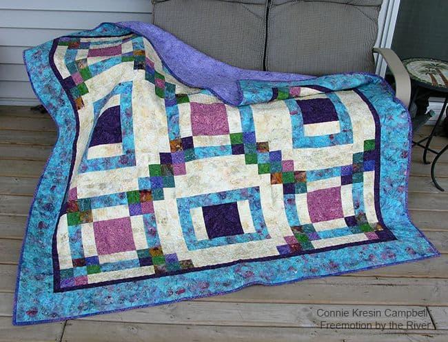 Maze Quilt Pattern