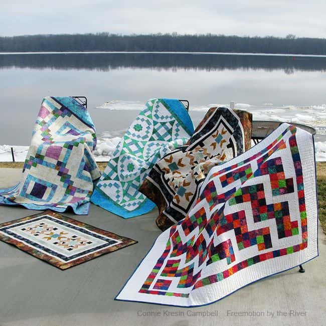 Quilt Patterns by Freemotion by the River