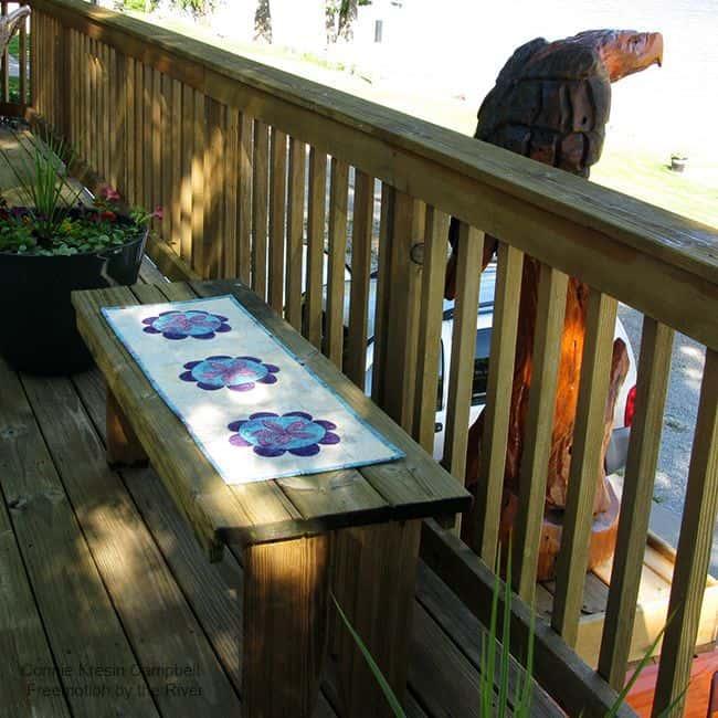 Summer Flower Table Runner Tutorial Summer-Iggy