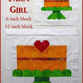 6 inch and 12 inch quilt block