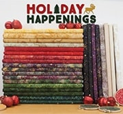 Holiday Happenings collection from Island Batik