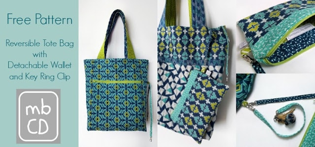 Free Reversible Tote Pattern by MadeByChrissieD