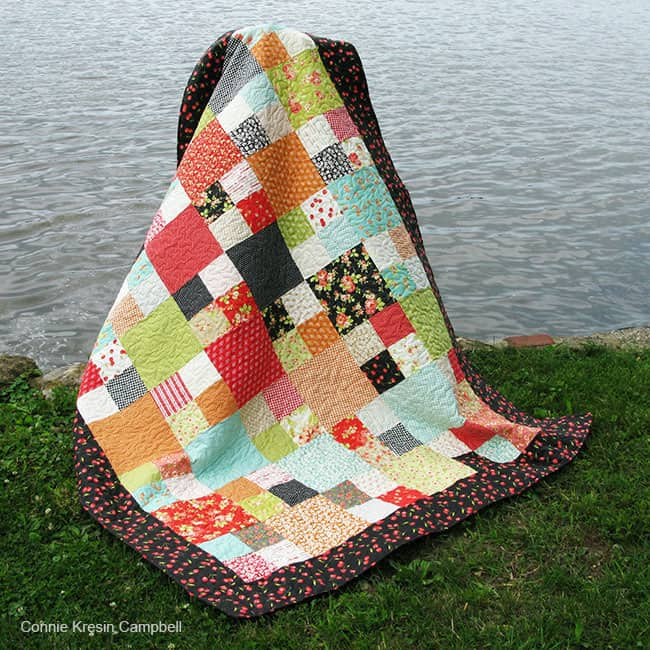 Checkmate Free Quilt Pattern