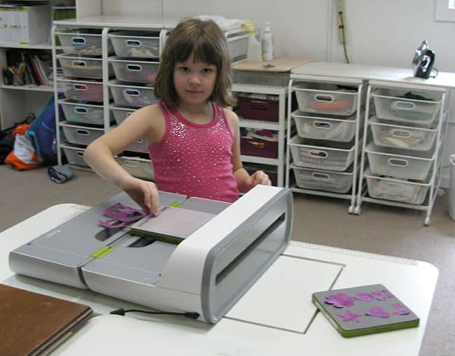 6 year old helper