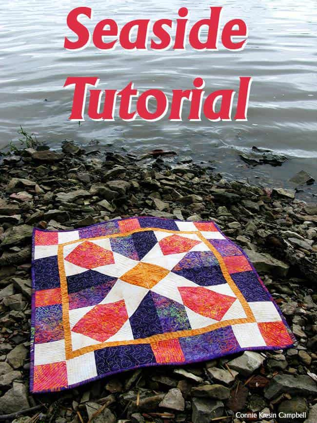 Seaside Fast and Easy Quilt Tutorial