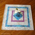 Square in a Square Table Topper Easy Tutorial