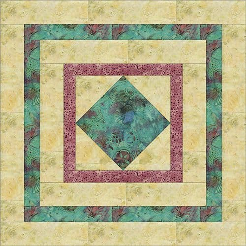 step 5 of square in a square tutorial