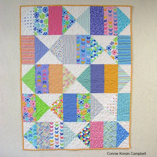 Birds Eye View Baby Quilt