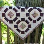 Batik Fall Table Topper