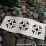 Sea Canyon Table Runner