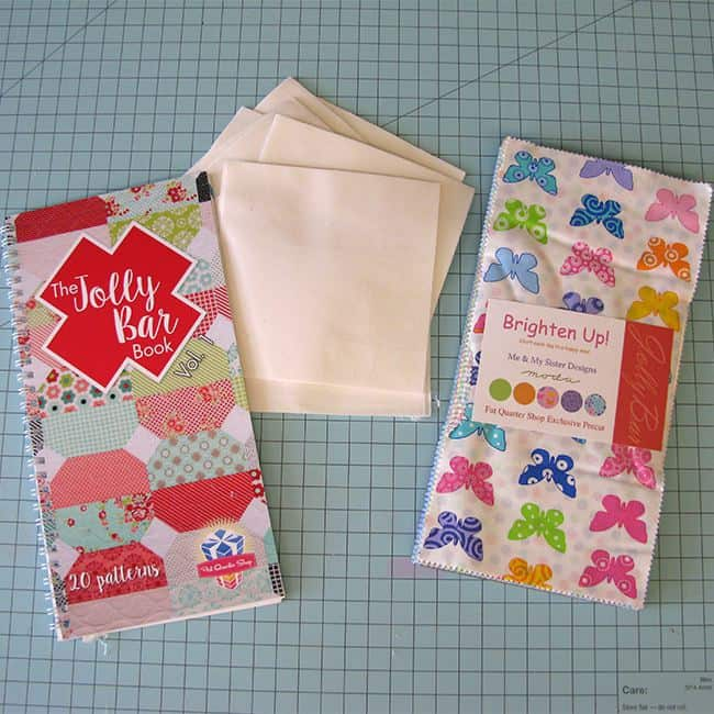 Jolly Bar Book and fabrics